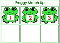 Froggy Number Match Up