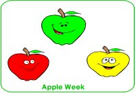 Apple week poster