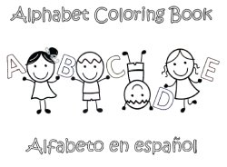 spanish coloring book - Spanish Alphabet Coloring Pages