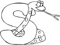 Free Preschool Alphabet Letter S Coloring Page For Young Children