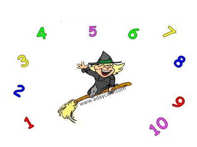 Halloween based math activities for preschool children