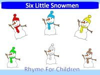 Six Little Snowmen Book – Rhyming Story