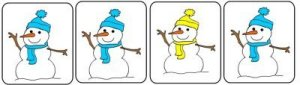 Which Snowman Is Differnt