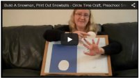 Build A Snowman - Circle Time Craft