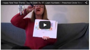 Happy New Year Video - Count backwards 10 to 1 with Staci
