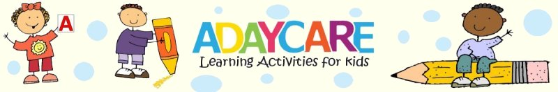adaycare learning activities for kids