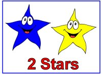 Toddler Shape Display – two stars