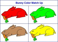 Bunny Color Match Up