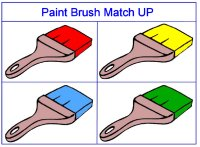 Paintbrush Color Match Up