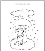 Weather Story for preschool kids