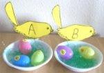 Bird Egg Letter Match Up