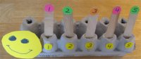 Caterpillar Egg Carton Numbers