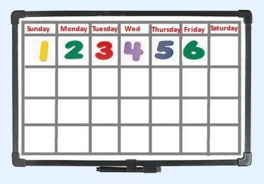 Toddler Calendar For Circle Time