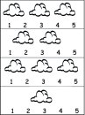 How Many Clouds Worksheet