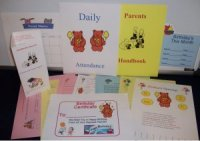 Daycare Forms includes all 150 Daycare Child Care Forms such as the parent's handbook & contract, click here to purchase