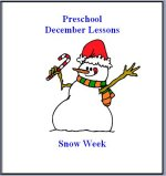 December Preschool ages 2.5 to 6 years, click here to view!