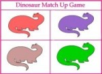 Dinosaur Color Game