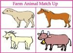 Farm Animal Match Up