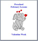 February Preschool ages 2.5 to 6 years, click here to view!