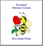 February Preschool Curriculum – Five Senses Theme Lesson Plans