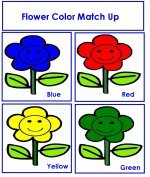 Flower Color Match Up Game