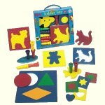 Foam puzzles and peg boards
