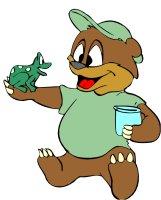 Freddy Frog & Bear