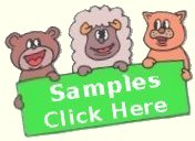 View Preschool, toddler and younger toddler Curriculum Samples