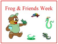 Poster For Freddy Frog & Friends Week