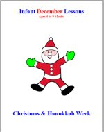 Infant December curriculum for ages 6 to 9 months week 3 Christmas and Hanukkah curriculum lesson plans