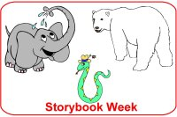 Infant Curriculum for baby 6 to 9 months for December week 1 Storybook theme