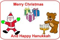 Infant Curriculum for baby 6 to 9 months for December week 3 Christmas and Hanukkah theme
