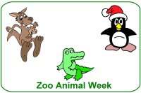 Infant Curriculum for baby 6 to 9 months for December week 4 zoo animal theme