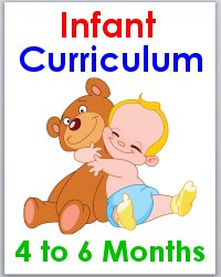 Infant 4 to 6 months Activity Lesson Plans