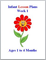 Infant curriculum for ages 1 to 4 months, week 1