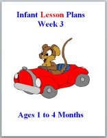 Infant curriculum for ages 1 to 4 months, week 3