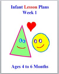 Infant Lesson Plans for ages 4 to 6 months, week 1