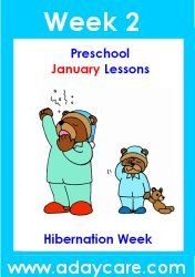 January Preschool Curriculum – Hibernation Theme Lesson Plans