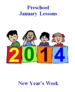 January Preschool Curriculum – New Year Theme Lesson Plans