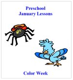 January Preschool ages 2.5 to 6 years, click here to view!