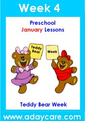 January Preschool Curriculum – Teddy Bear Theme Lesson Plans