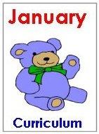 Preschool January Curriculum