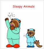 Science for kids – Sleepy Animals printable Story for hibernation lesson plans