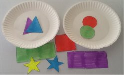 Sort the shapes, rectangles, circles, squares, triangles and stars
