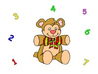 Teddy bear number match up