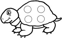 Turtle Letter Bingo Game