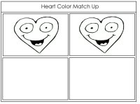 Heart Color Match Up Game