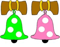 Liberty Bell Green & Pink Color Match Up Game