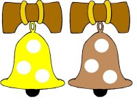 Liberty Bell Yellow & Brown Color Match Up Game
