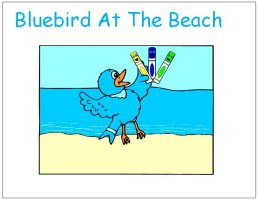 Bluebird At The Beach Story